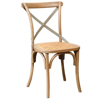 Waldhaus Bent Side Chair (Set of 2) Color: Driftwood Oak finish