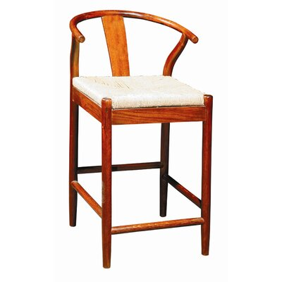 In store financing Broomstick Counter Stool Finish: Br...