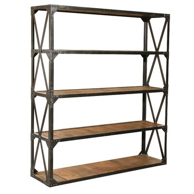 Low Price Furniture Classics LTD Bleeker Recycled Large Bookcase