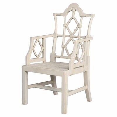 Italian Arm Chair (Set of 2) Color: Handpainted Vanilla