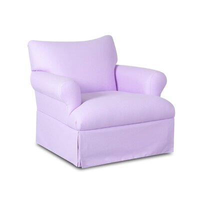 Nursery Classics Finney Swivel Glider Chair - Upholstery: Willow Bluestone