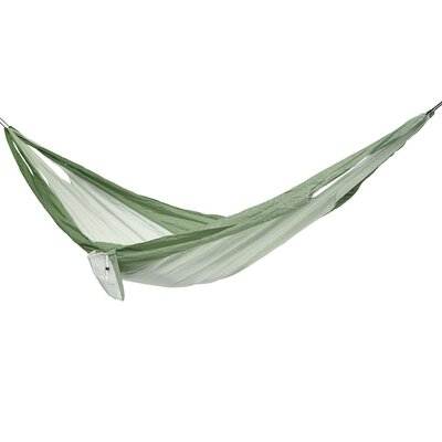 Easy Traveller Nylon Camping Hammock Color: Green