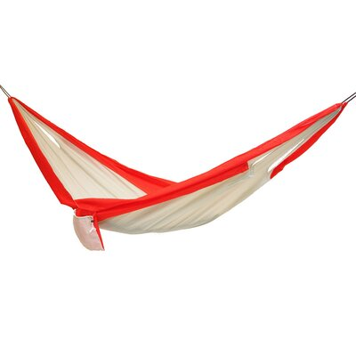 Easy Traveller Nylon Camping Hammock Color: Red