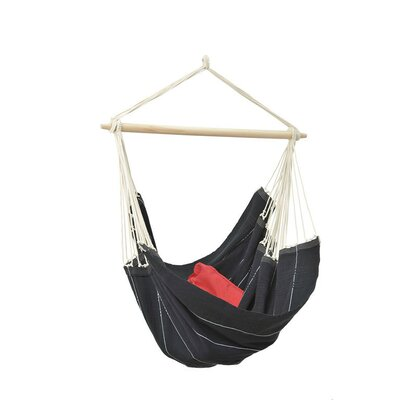 Brazil Cotton Chair Hammock Color: Black