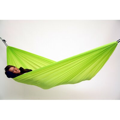 Traveller Lite Polyester Camping Hammock Color: Green