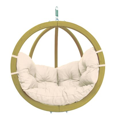 Globo Chair with Cushion Color: Natural