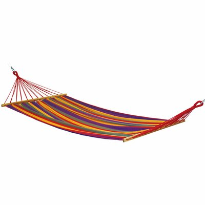Mauritius Cotton and Polyester Tree Hammock Color: Multi