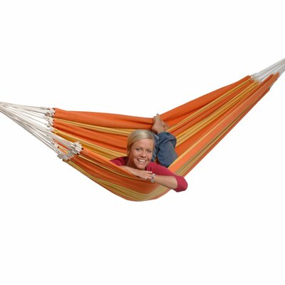 Paradiso Cotton Tree Hammock Color: Orange
