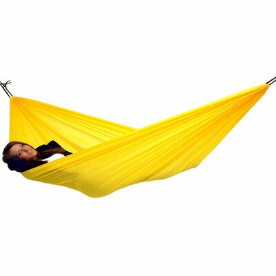 Traveller Lite Polyester Camping Hammock Color: Yellow