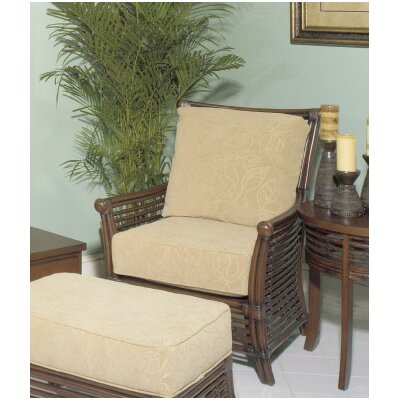 College Park Arm Chair And Ottoman