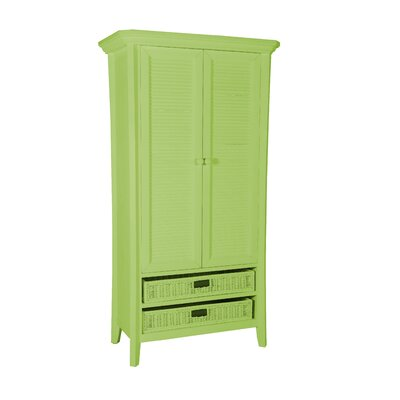 Plantation Armoire Finish: Avocado