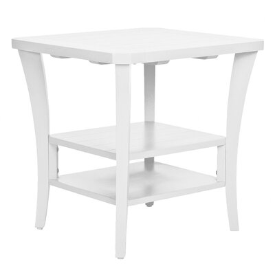 Cottage End Table Finish: Classic White
