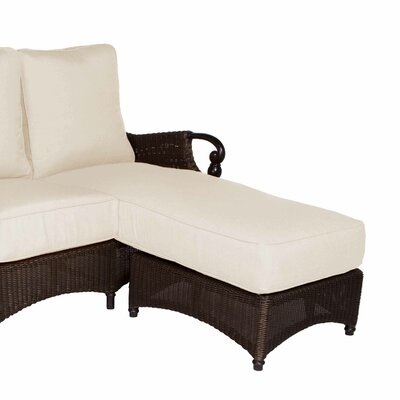 Montego Bay Chaise Lounge with Cushion