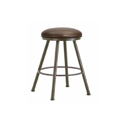 Alexander 26  Swivel Bar Stool Finish: Rust, Upholstery: Ford Brown