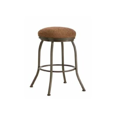 Fiesole 26 Swivel Bar Stool Finish: Rust, Upholstery: Radar Nugget