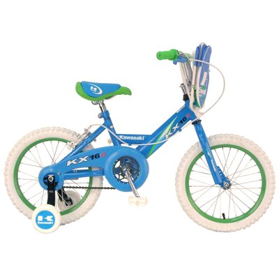 Kawasaki™ Girls KX16G BMX Bike with Training Wheels at Sears.com