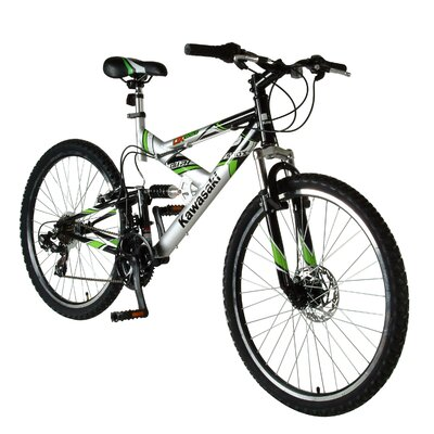 "Kawasaki KDX226FS 26"" Men's Full-Suspension Mountain Bike"