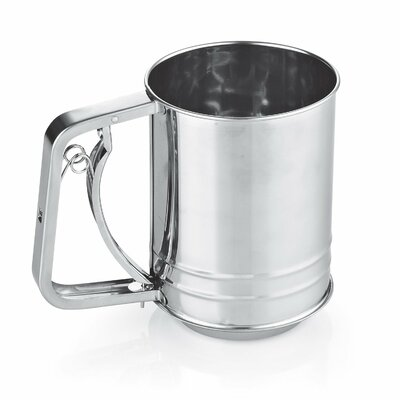 Cook N Home Stainless Steel 3-Cup Flour Sifter 2423