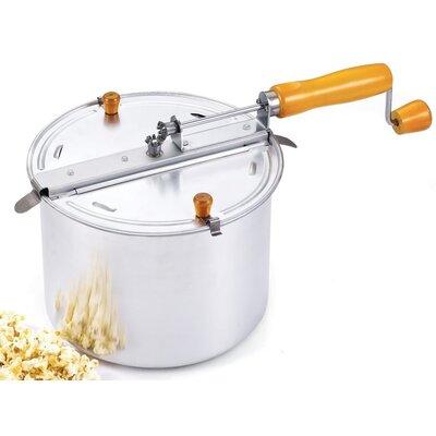 Cook N Home 6.5 Qt Stovetop Aluminum Popcorn Popper