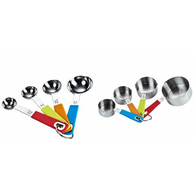 Cook N Home Cook N Home 8 Piece Measuring Spoon & Cup Set NC-00354