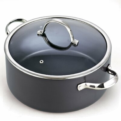 7 Qt. Hard Anodize Round Dutch Oven