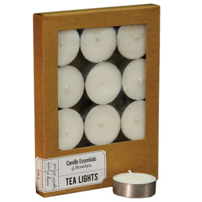 Unscented Tealight Candle (Set of 6) 0210-0