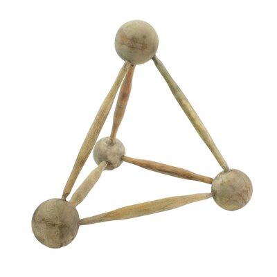 Ellerbe Molecular Triangle Sculpture