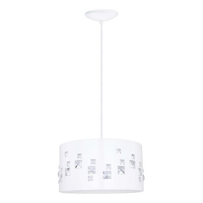 Pigaro 2-Light Drum Pendant