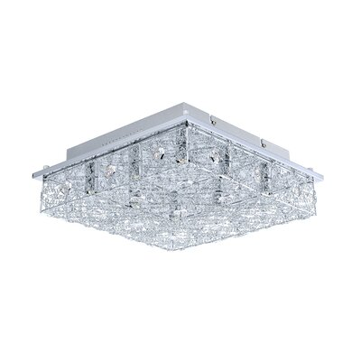 Stelaria 8-Light Flush Mount