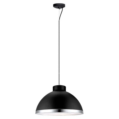 Cavas 2-Light Mini Pendant Finish: Black