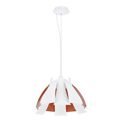 Tressi 1-Light Mini Pendant Size: 21.8 W x 21.8 D