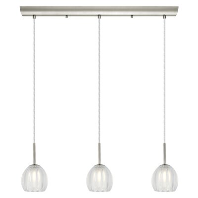 Lorcasa 3-Light Kitchen Island Pendant