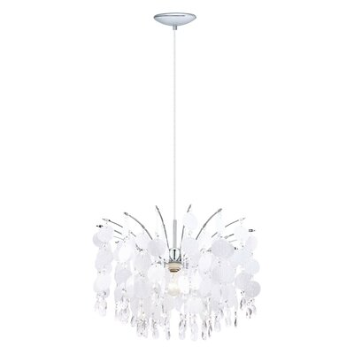 Dayton 1-Light Crystal Chandelier