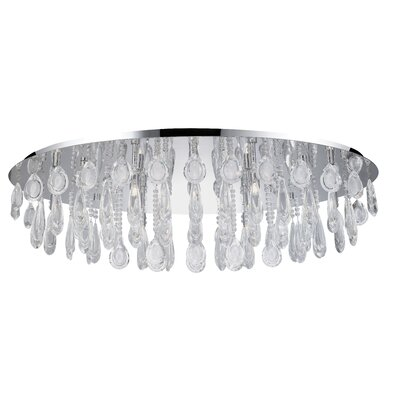 Calaonda 10-Light Flush Mount