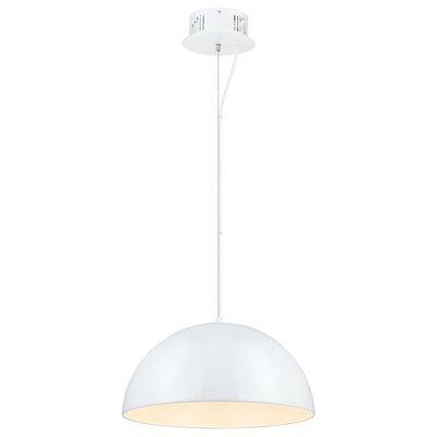 Rawson 1-Light Mini Pendant Finish: Glossy White