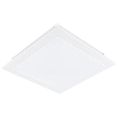 Kortney 1-Light Flush Mount Size: 3.75 H x 15.13 x 15.13 W