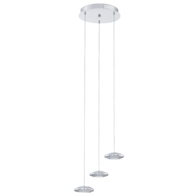 Tarugo 3 LED Integrated Bulb Pendant