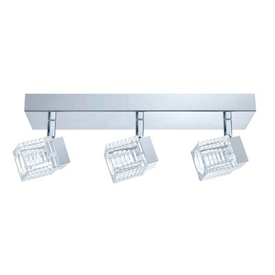 Quarto 3-Light Semi Flush Mount