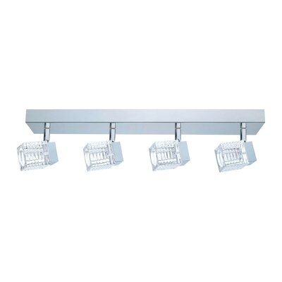 Quarto 4-Light Semi Flush Mount
