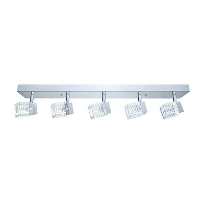 Quarto 5-Light Semi Flush Mount