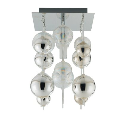 Johansen 1-Light Semi Flush Ceiling Light
