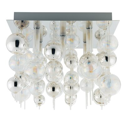 Johansen 5-Light Semi Flush Ceiling Light