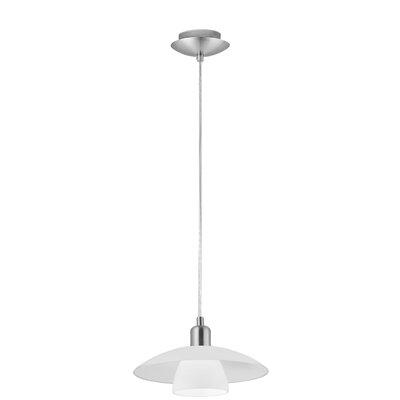 Heid 1-Light Mini Pendant Size: 59 H x 11.38 W