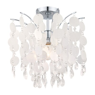 Dayton 1-Light Semi Flush Mount
