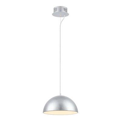 Rawson 1-Light Mini Pendant Finish: Silver