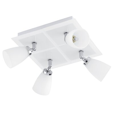 Hank 4-Light Semi Flush Mount