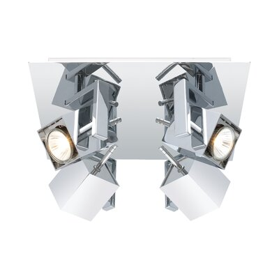 Dierdre 4-Light Semi Flush Mount