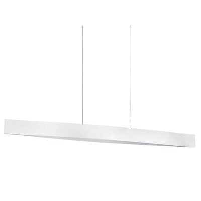 Jennifer 1-Light Kitchen Island Pendant Finish: Glossy White
