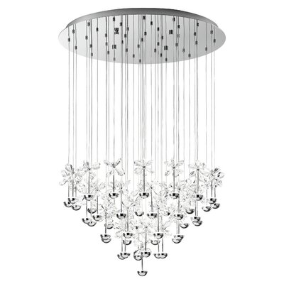 Purcell 43-Light Crystal Pendant