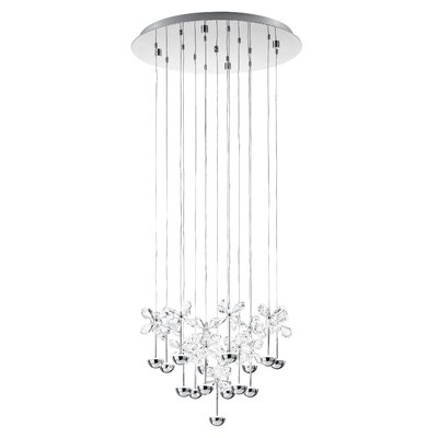 Purcell 16-Light Cascade Pendant